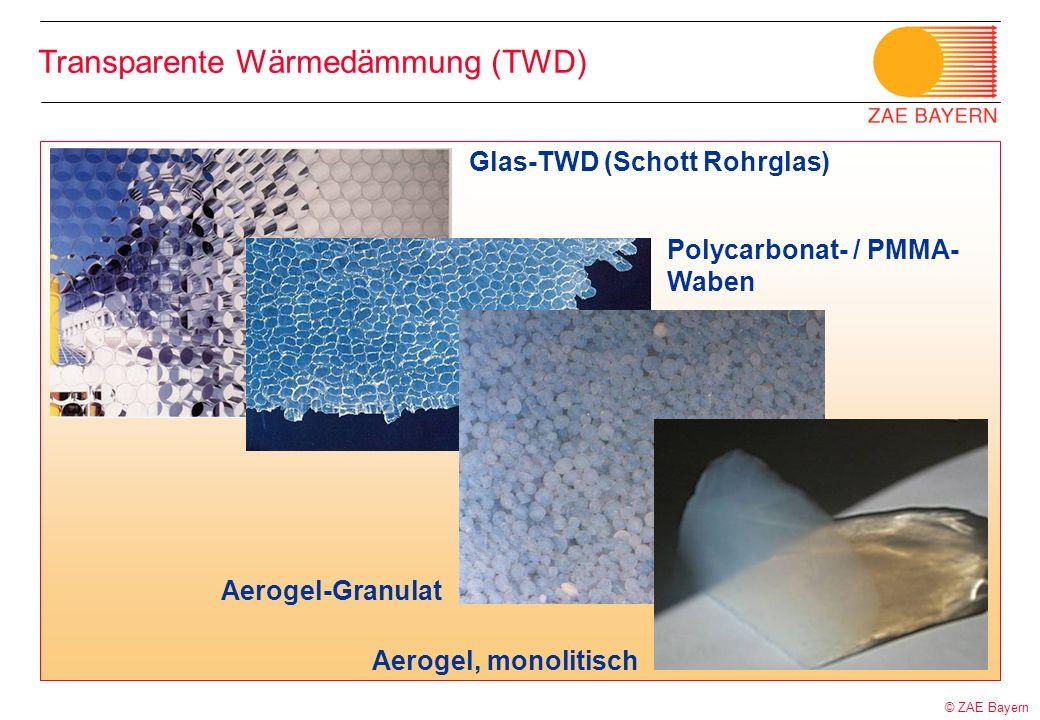 Transparente Wärmedämmung (TWD)