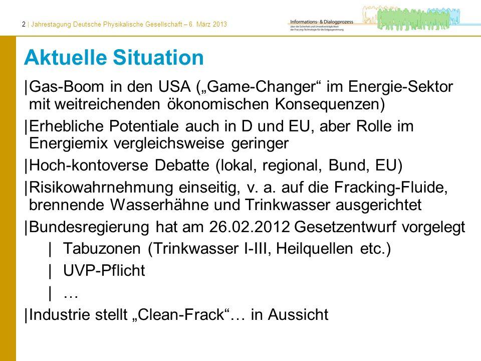 """Aktuelle SituationGas-Boom in den USA (""""Game-Changer im Energie-Sektor mit weitreichenden ökonomischen Konsequenzen)"""