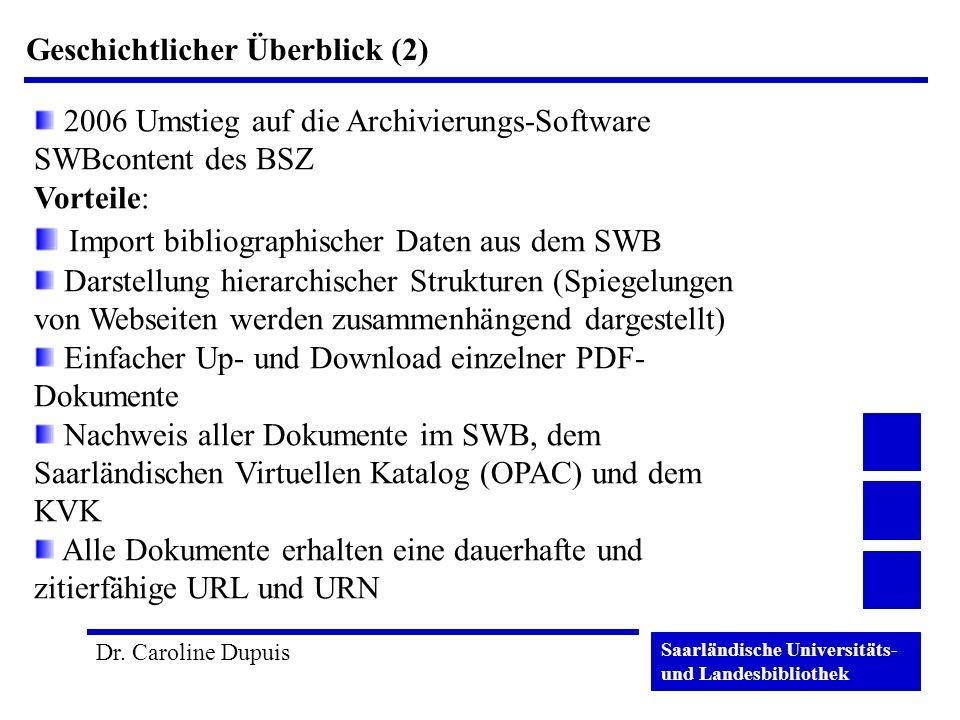 Import bibliographischer Daten aus dem SWB