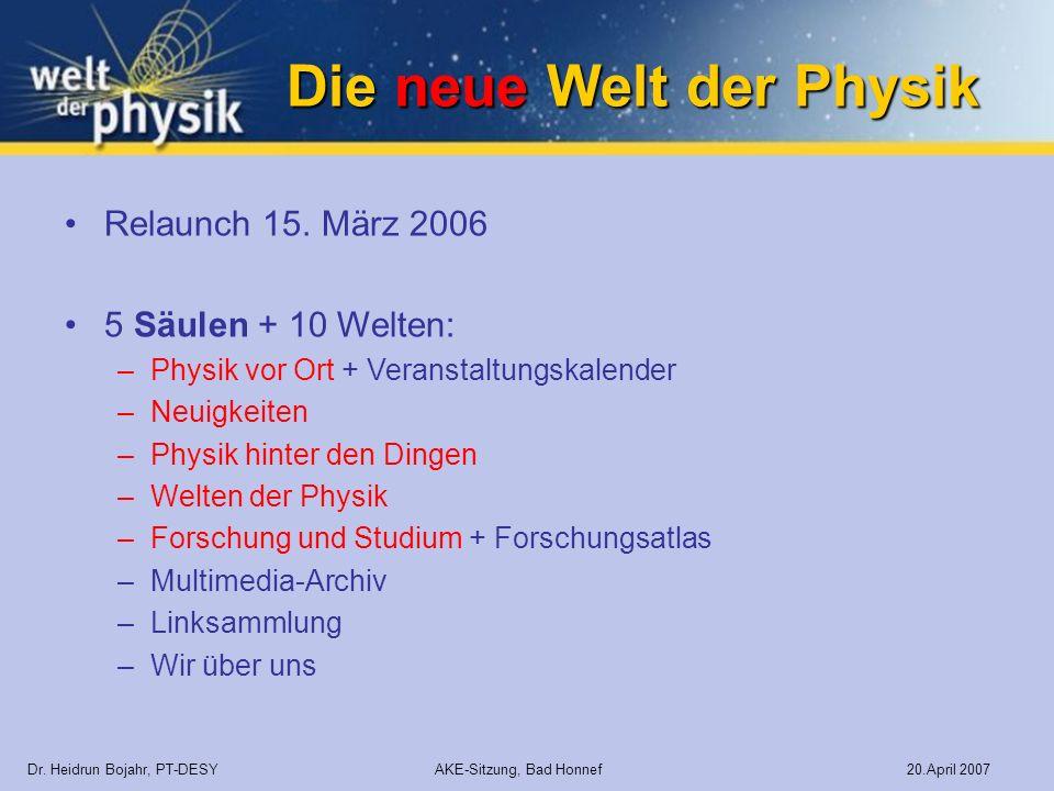 Die neue Welt der Physik