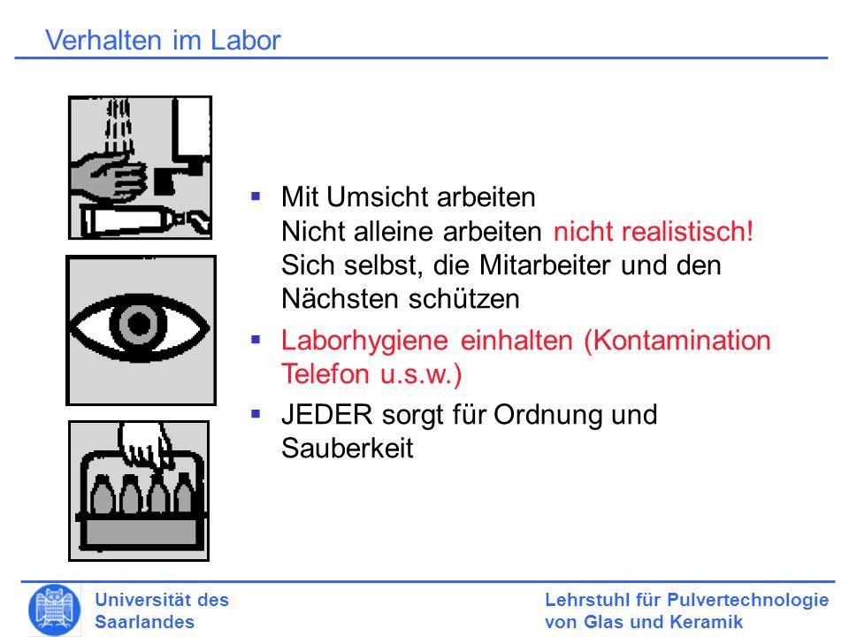 Laborhygiene einhalten (Kontamination Telefon u.s.w.)