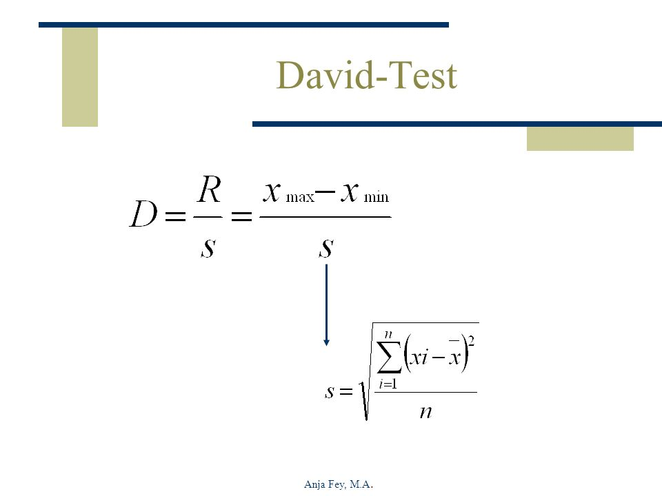 David-Test Anja Fey, M.A.