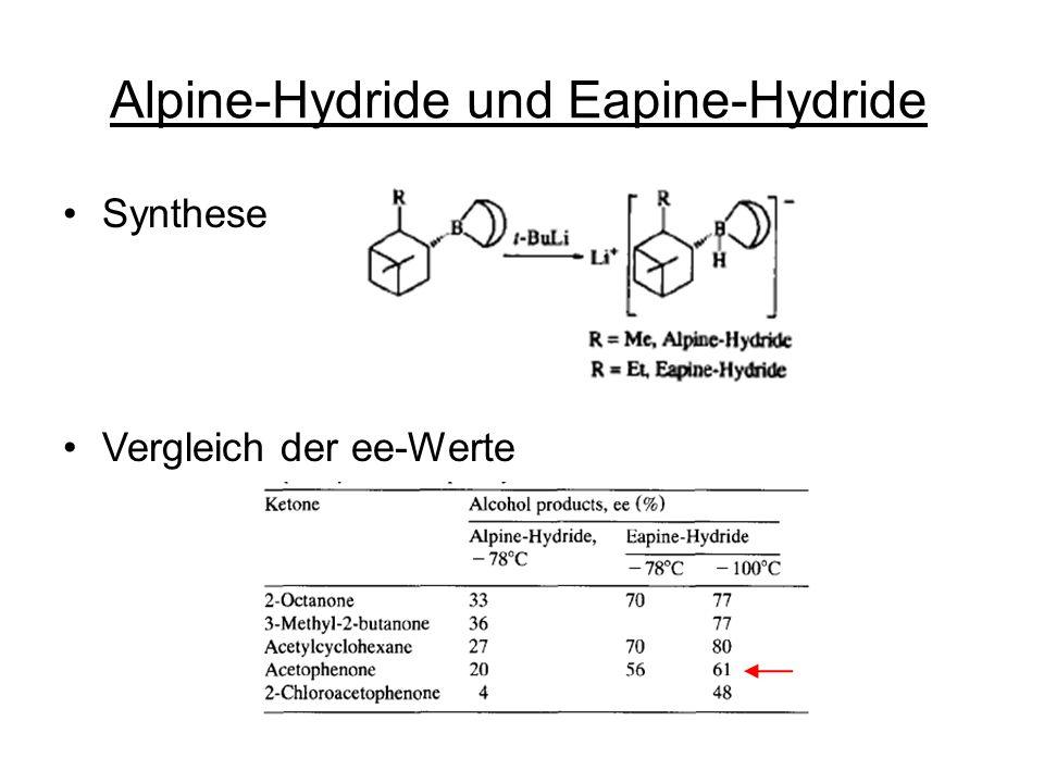 Alpine-Hydride und Eapine-Hydride