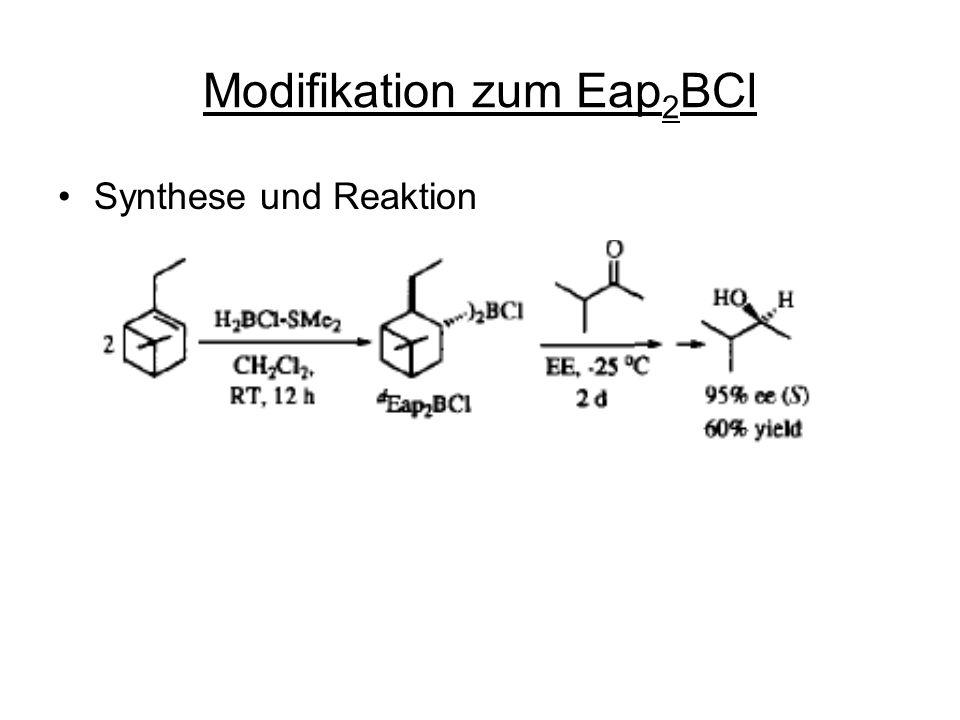 Modifikation zum Eap2BCl