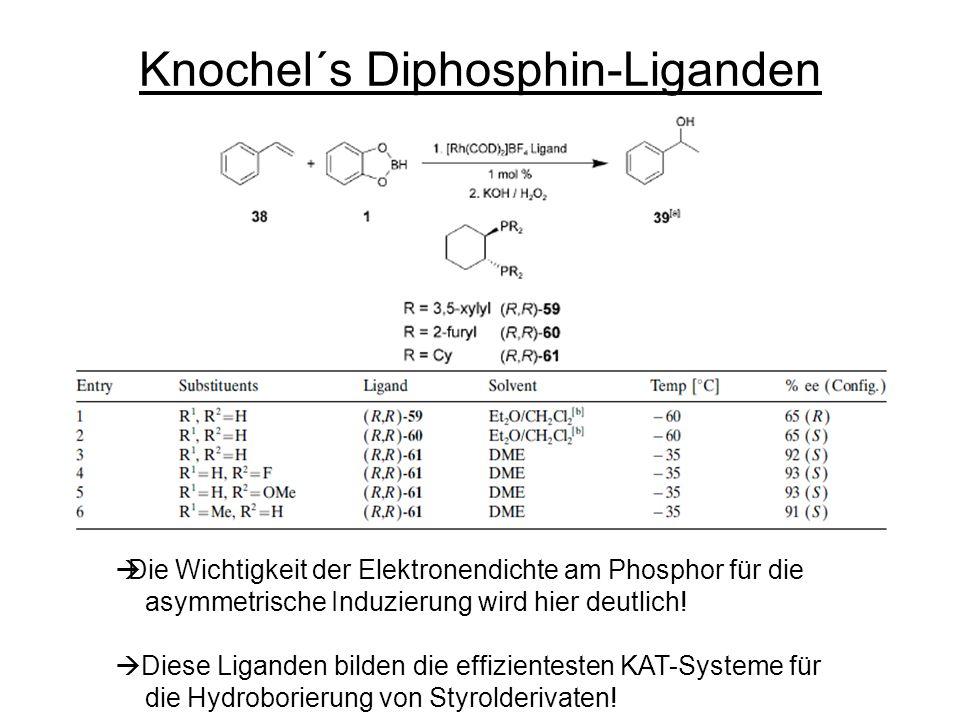 Knochel´s Diphosphin-Liganden