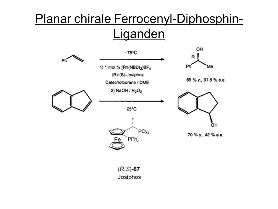 Planar chirale Ferrocenyl-Diphosphin-Liganden