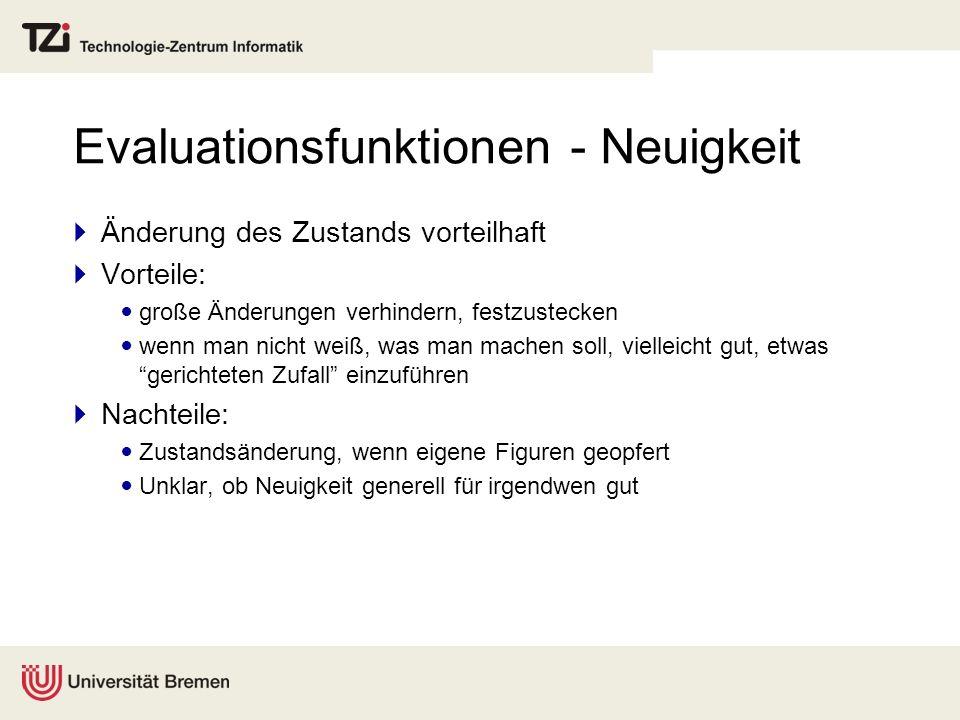 Evaluationsfunktionen - Neuigkeit