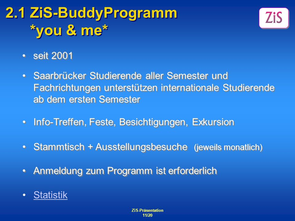 2.1 ZiS-BuddyProgramm *you & me*