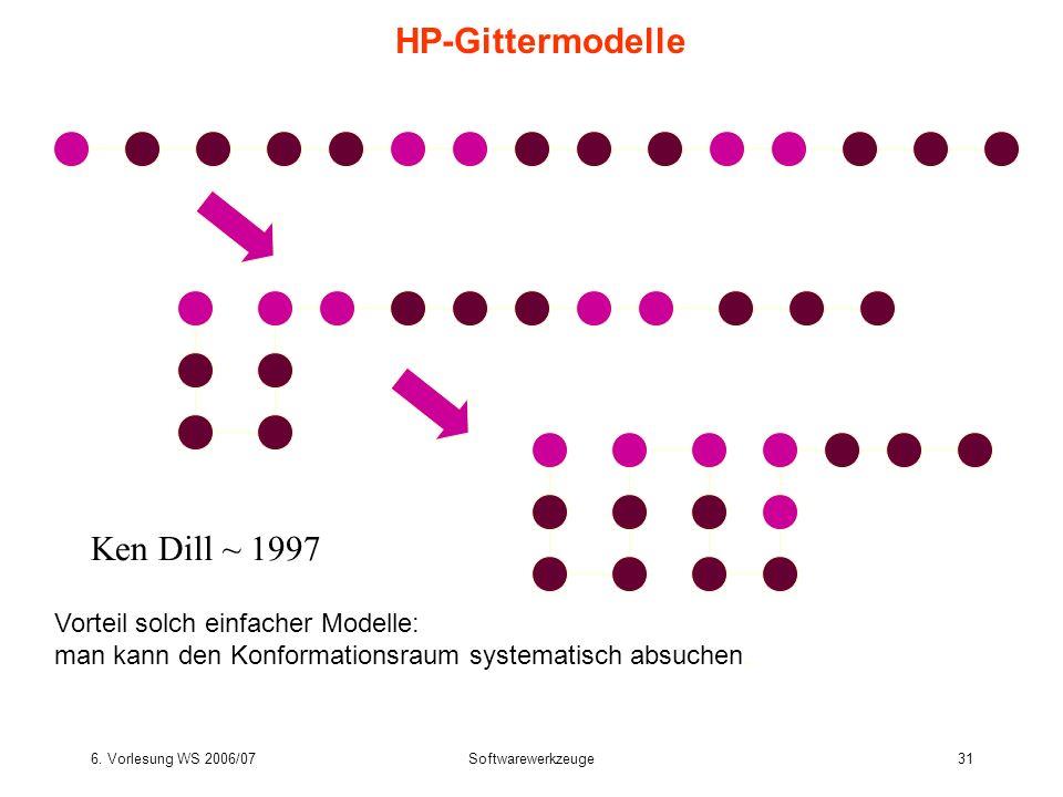 HP-Gittermodelle Ken Dill ~ 1997 Vorteil solch einfacher Modelle: