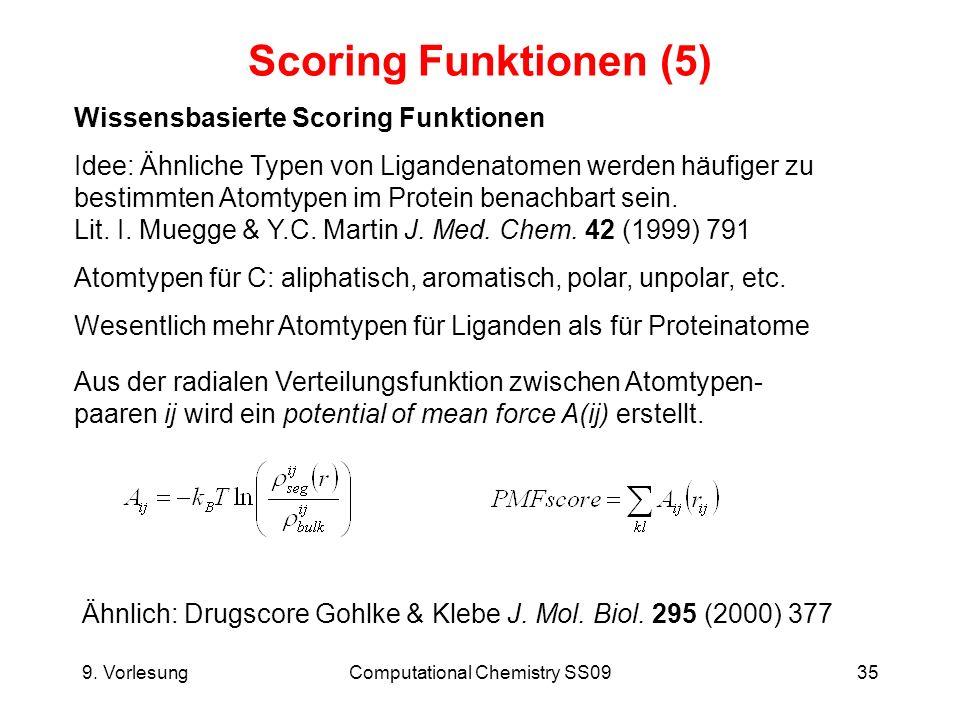 Computational Chemistry SS09