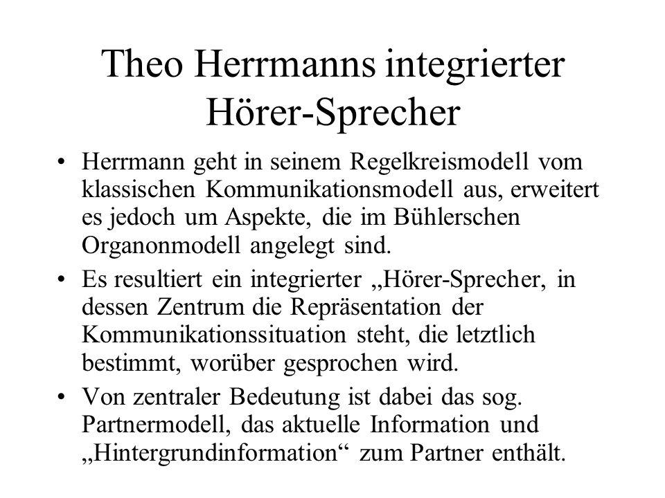 Theo Herrmanns integrierter Hörer-Sprecher