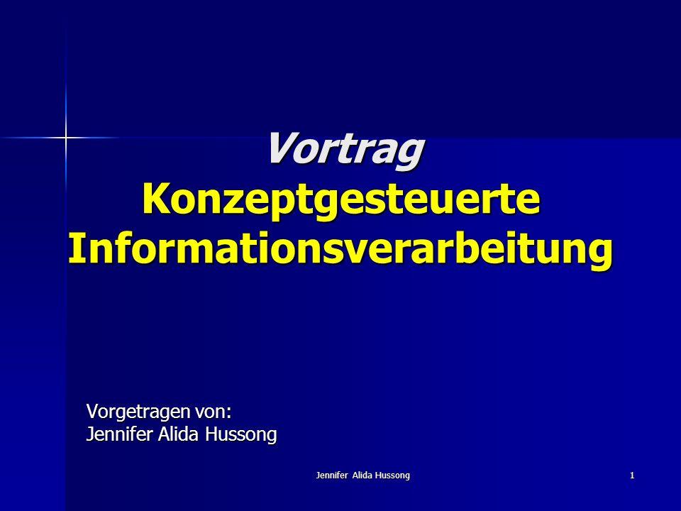Vortrag Konzeptgesteuerte Informationsverarbeitung