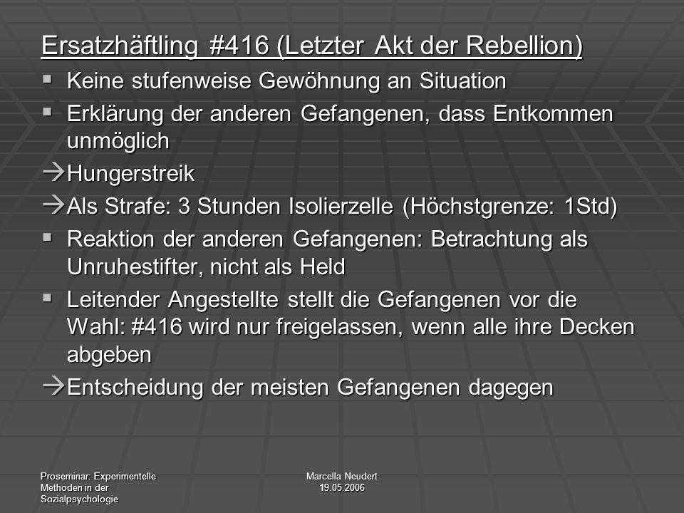 Ersatzhäftling #416 (Letzter Akt der Rebellion)