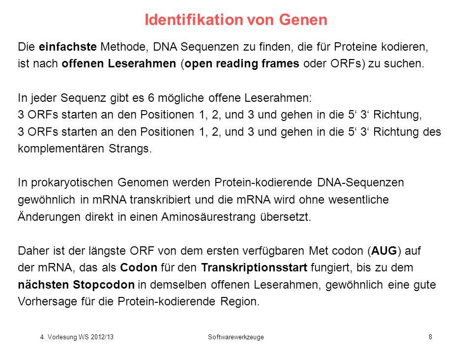 Identifikation von Genen