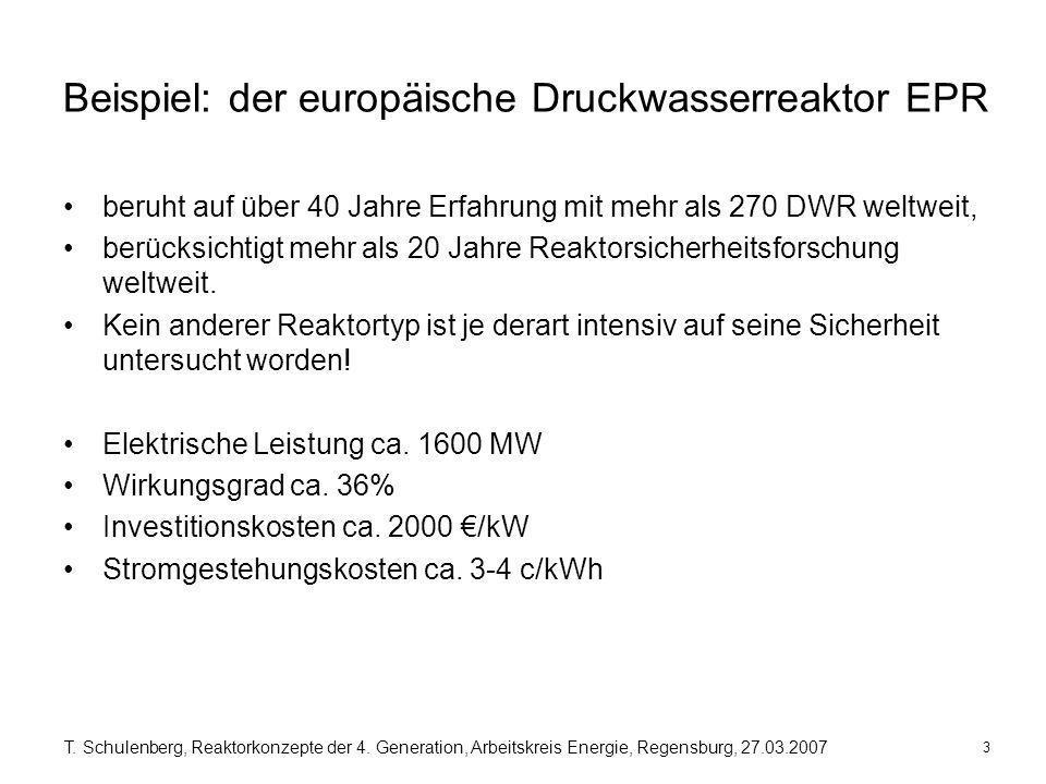 Beispiel: der europäische Druckwasserreaktor EPR