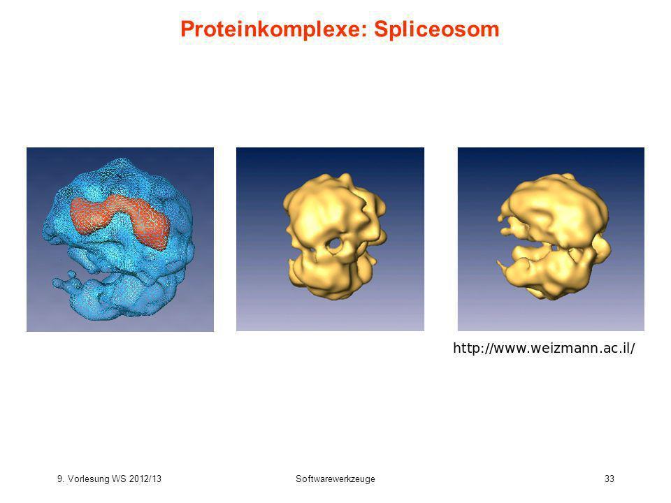 Proteinkomplexe: Spliceosom