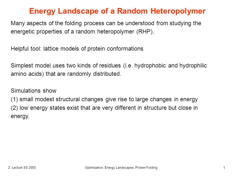 Energy Landscape of a Random Heteropolymer
