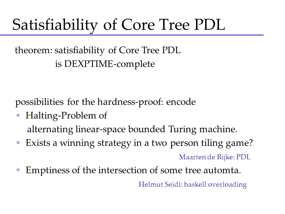 Satisfiability of Core Tree PDL