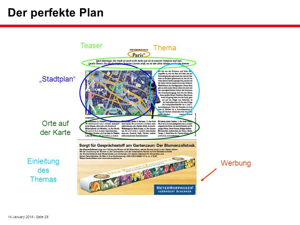 """Der perfekte Plan Teaser Thema """"Stadtplan Orte auf der Karte"""
