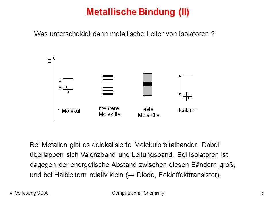 Metallische Bindung (II)