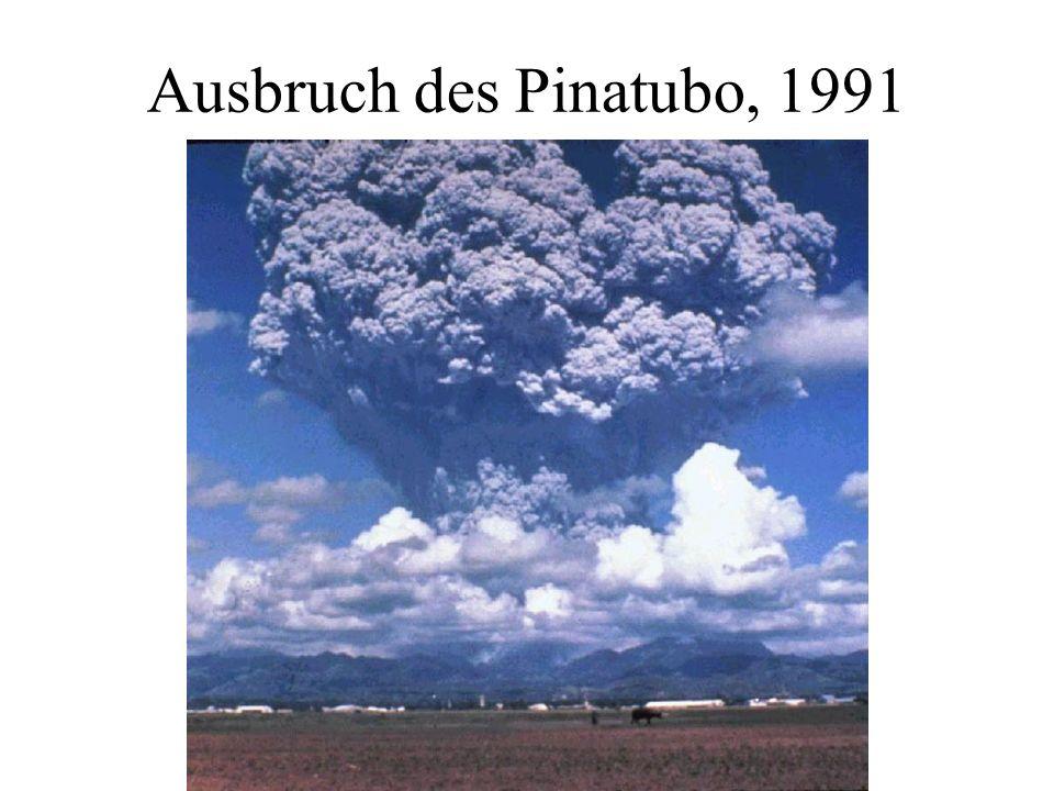 Ausbruch des Pinatubo, 1991