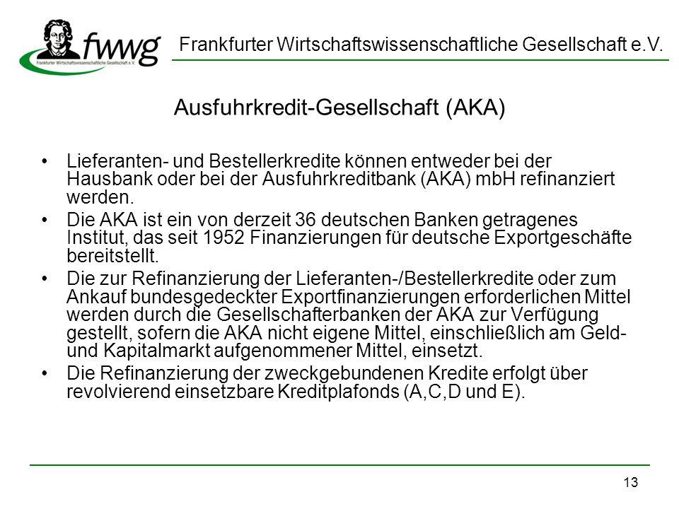 Ausfuhrkredit-Gesellschaft (AKA)