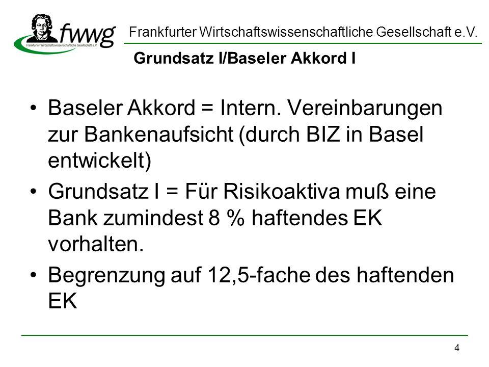 Grundsatz I/Baseler Akkord I