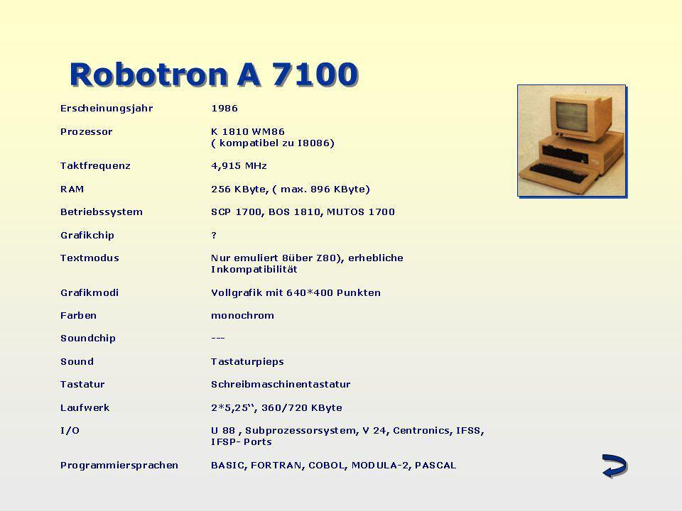 Robotron A 7100