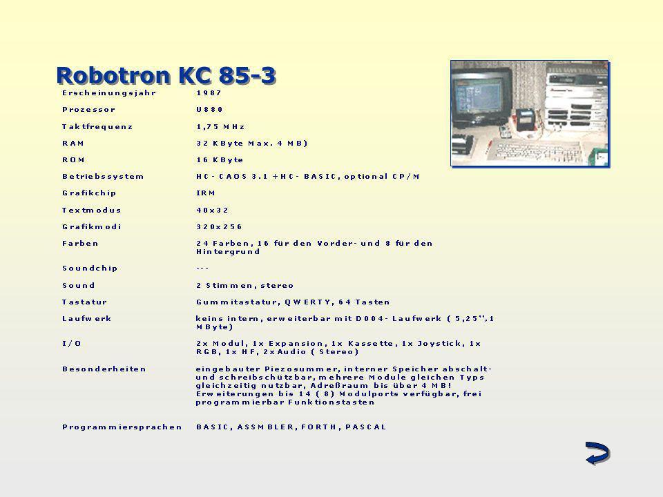 Robotron KC 85-3