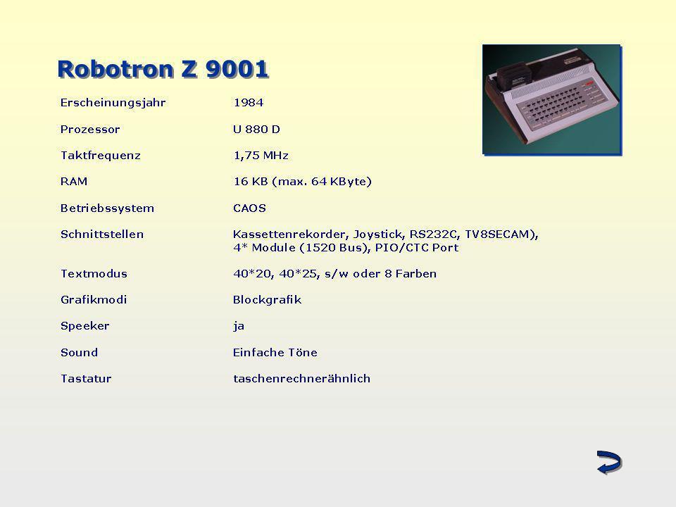 Robotron Z 9001