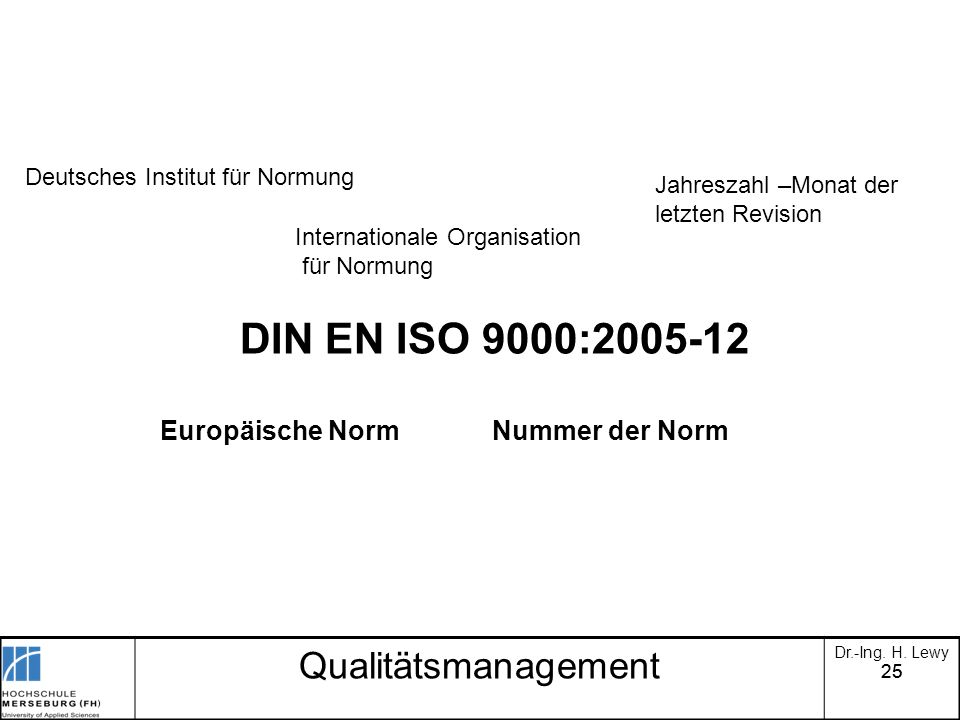 DIN EN ISO 9000:2005-12 Qualitätsmanagement