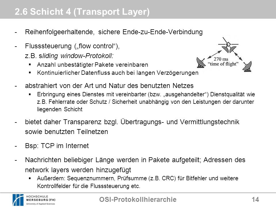 2.6 Schicht 4 (Transport Layer)