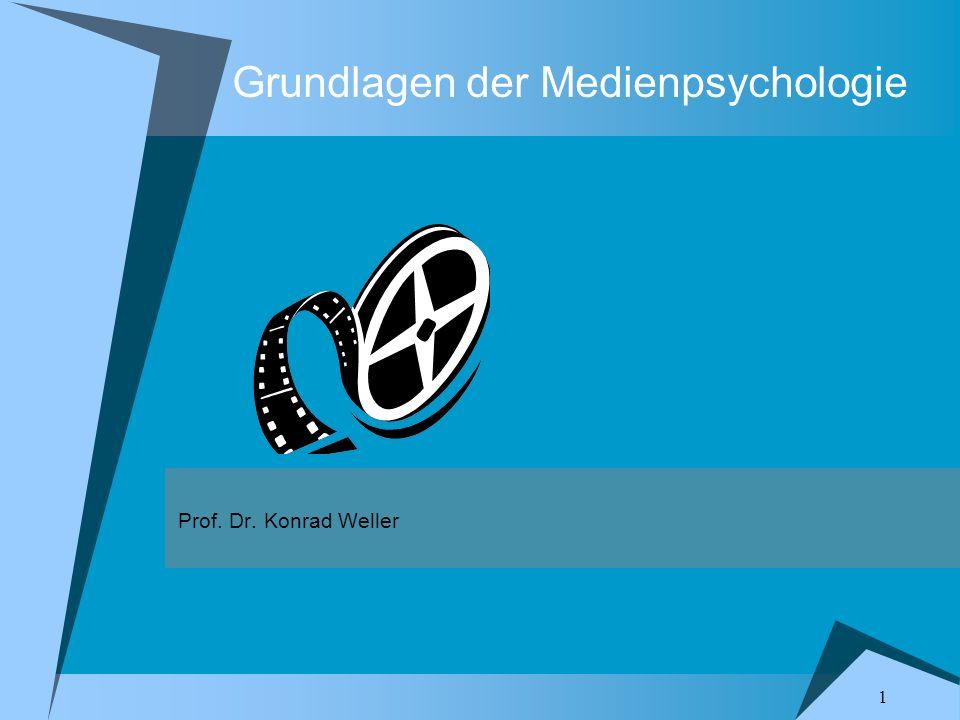 Grundlagen der Medienpsychologie