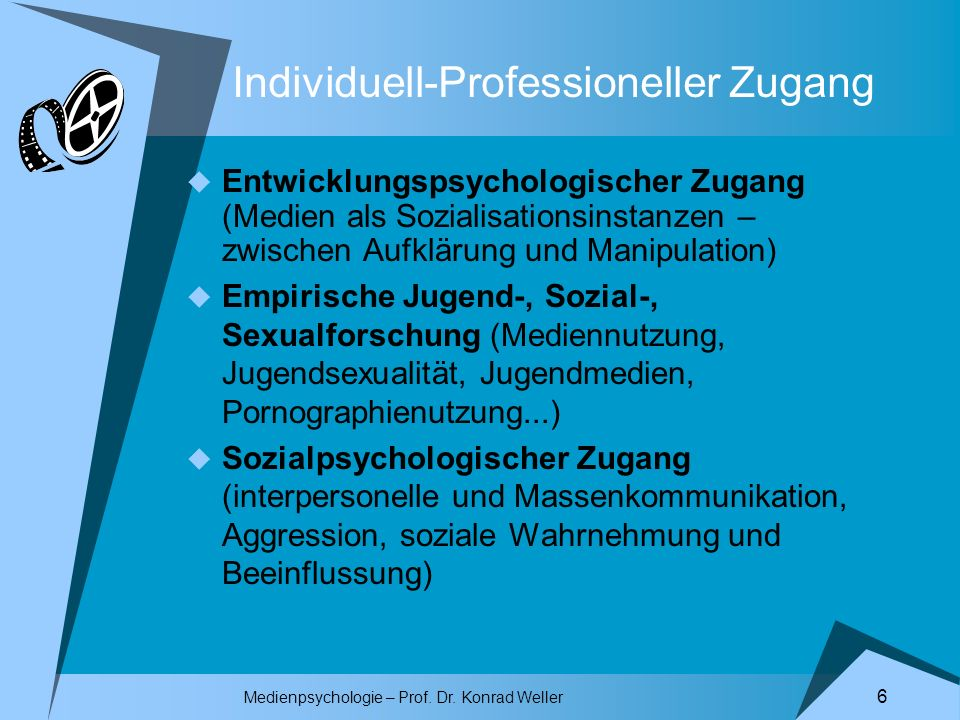 Individuell-Professioneller Zugang