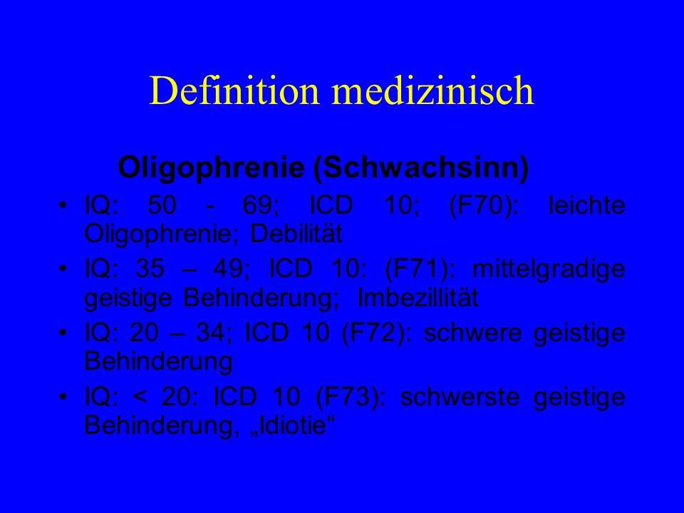 Definition medizinisch