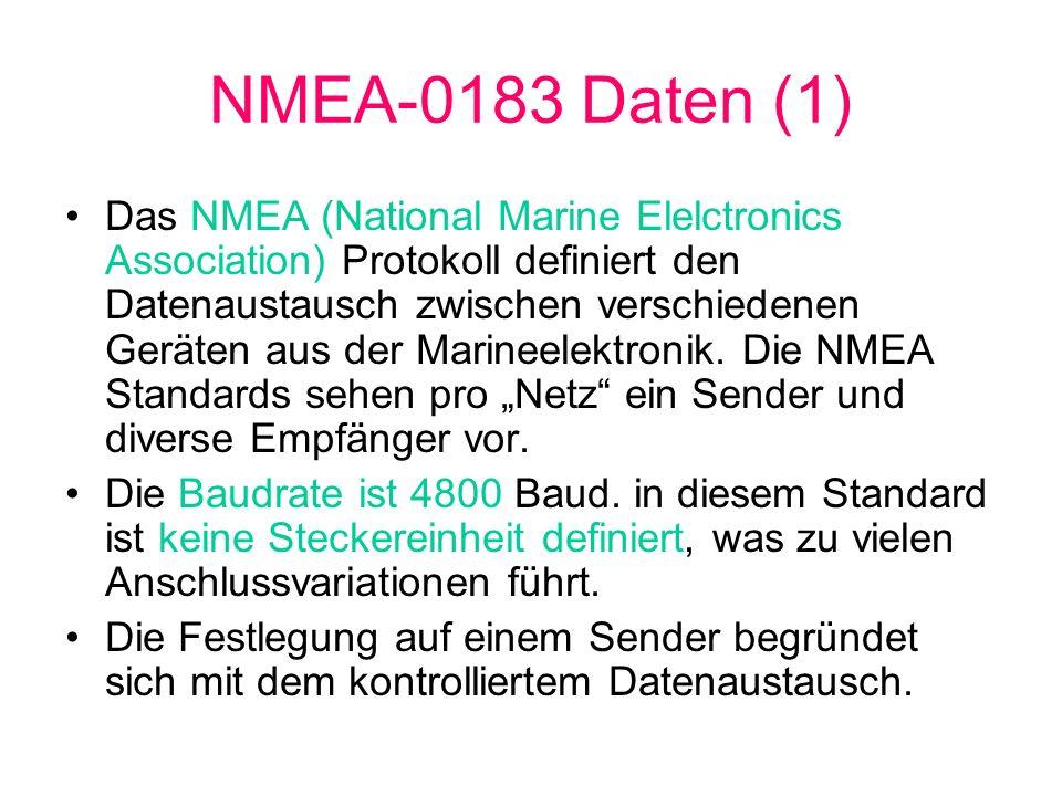 NMEA-0183 Daten (1)