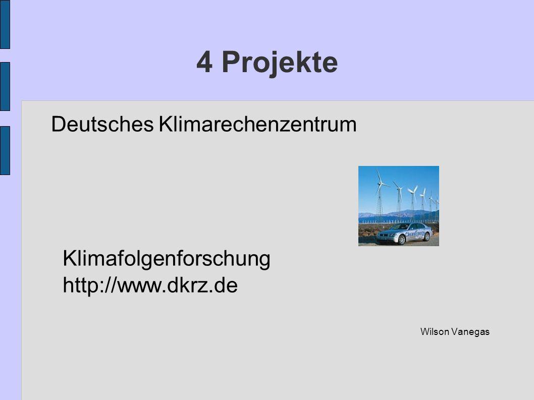 4 Projekte Deutsches Klimarechenzentrum Klimafolgenforschung