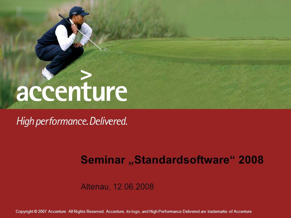 "Seminar ""Standardsoftware 2008"