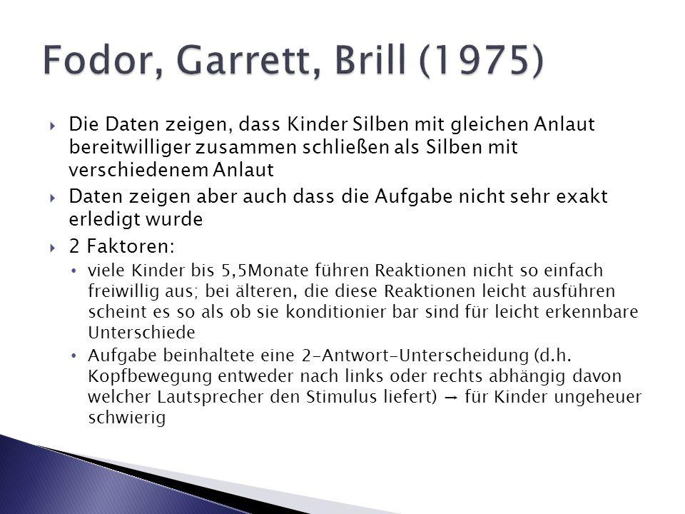 Fodor, Garrett, Brill (1975)