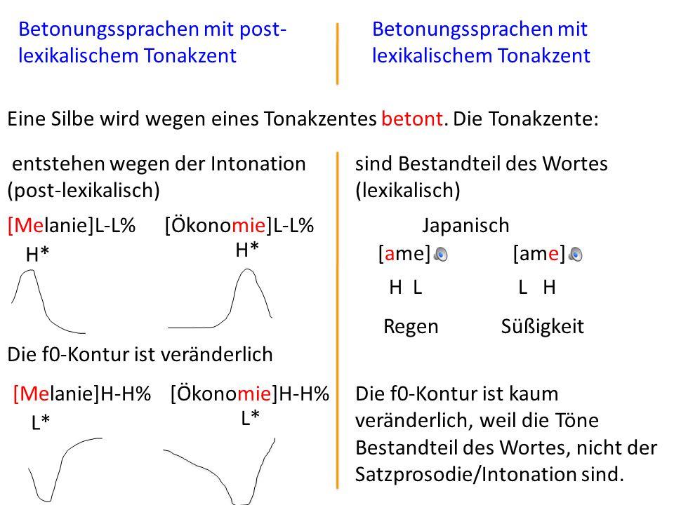 Betonungssprachen mit post-lexikalischem Tonakzent