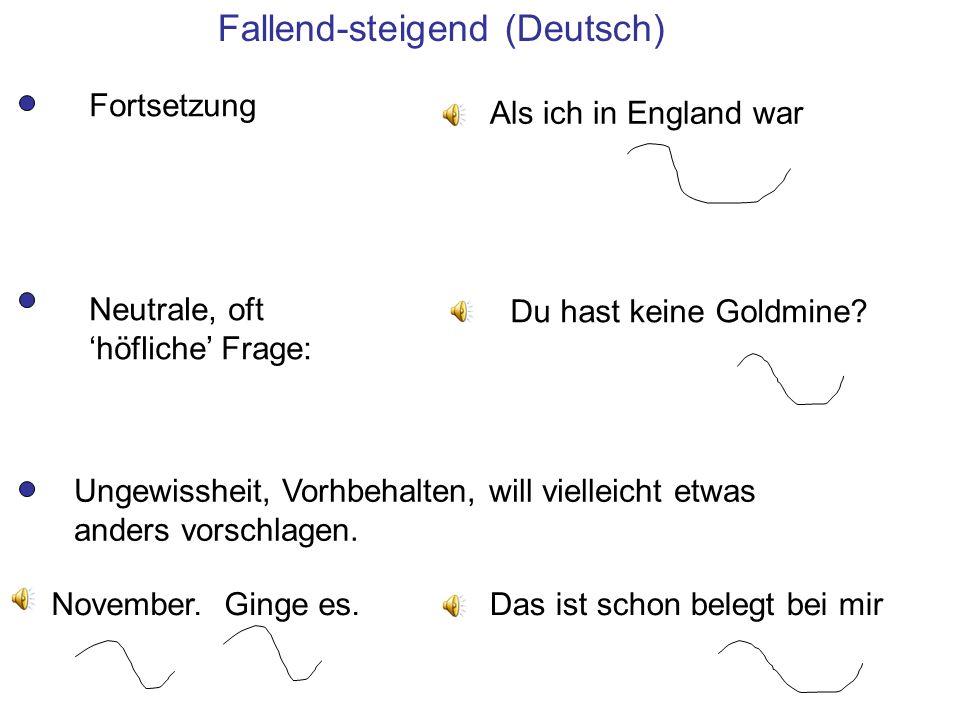 Fallend-steigend (Deutsch)