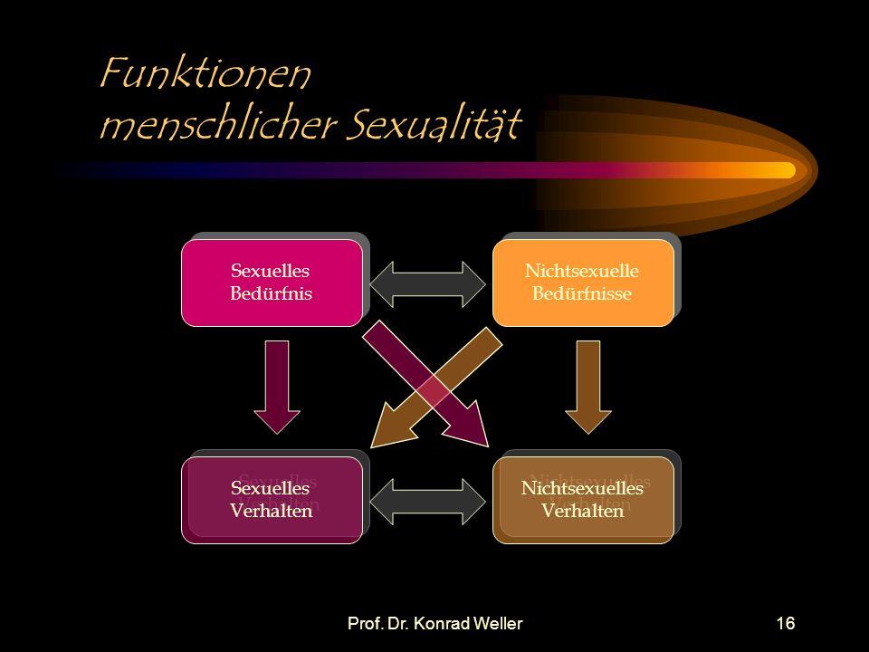 Funktionen menschlicher Sexualität