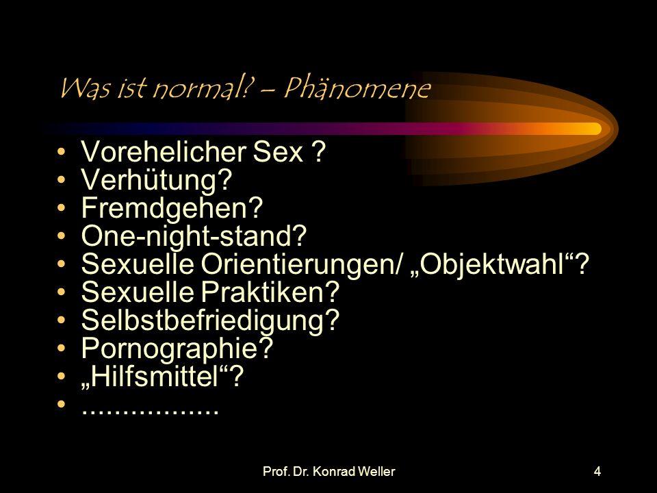 Was ist normal – Phänomene