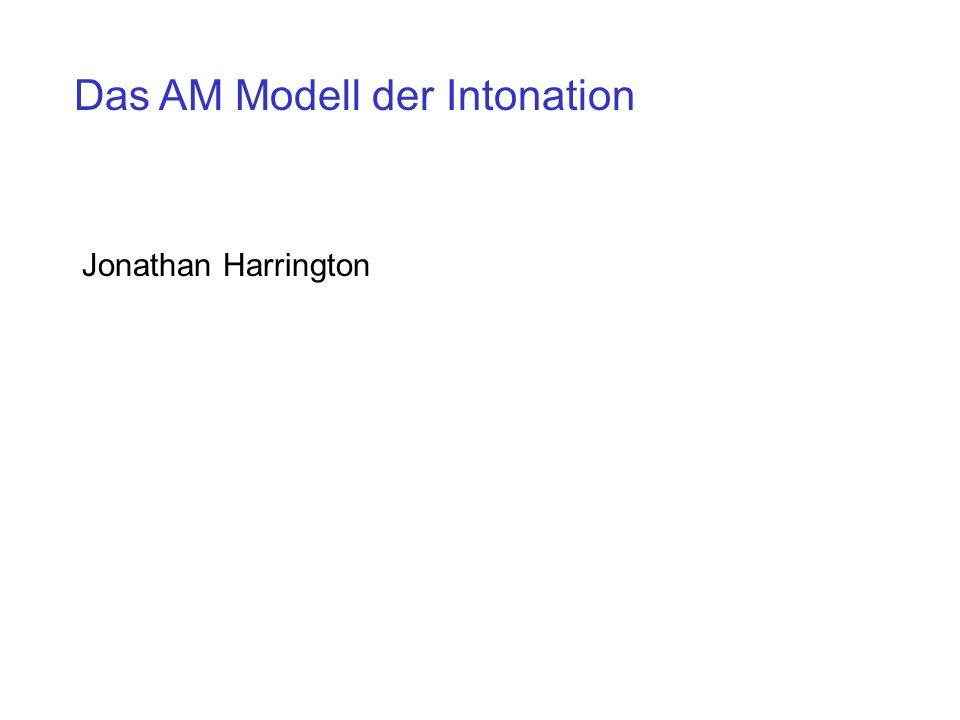 Das AM Modell der Intonation