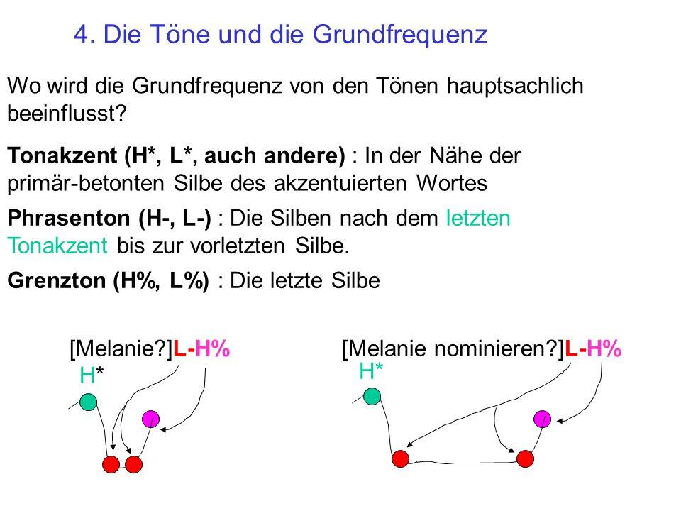 4. Die Töne und die Grundfrequenz