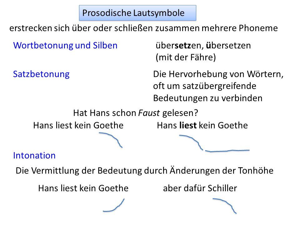 Prosodische Lautsymbole