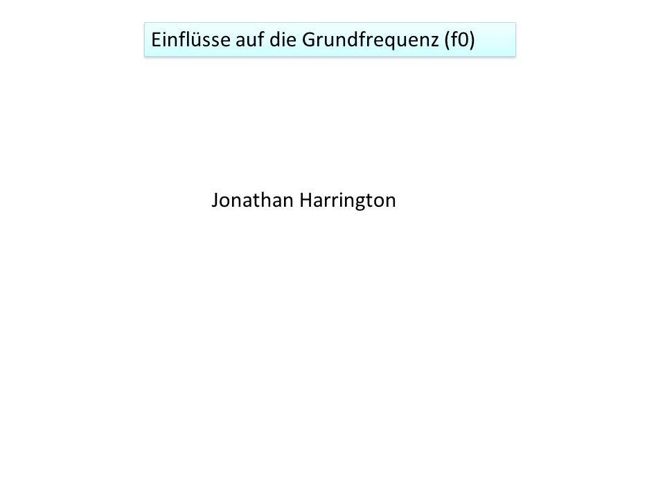 Einflüsse auf die Grundfrequenz (f0)