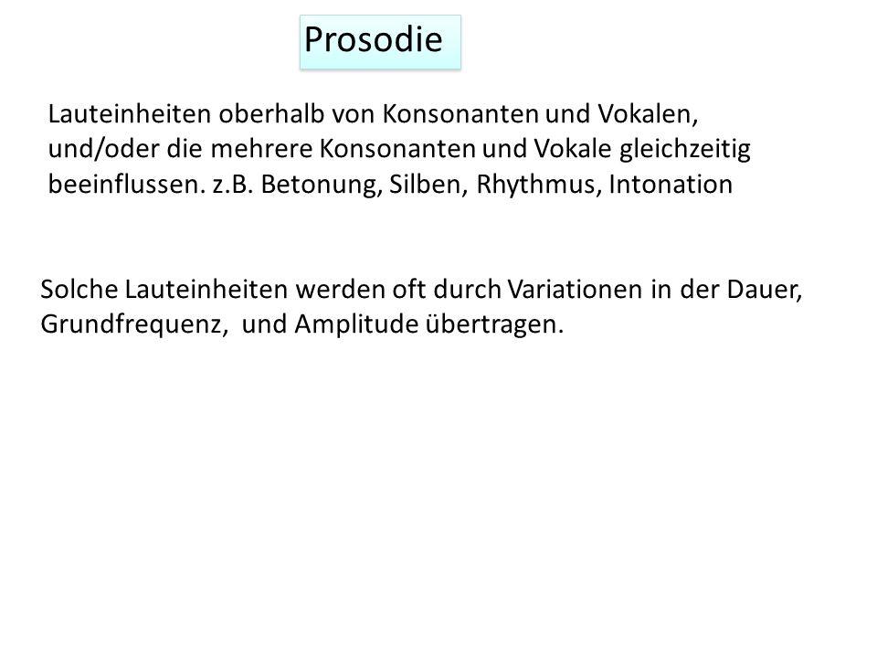 Prosodie