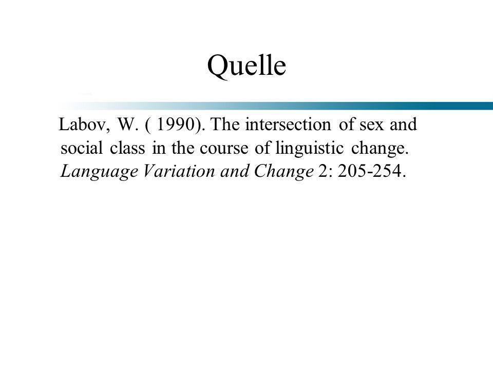 QuelleLabov, W.( 1990).