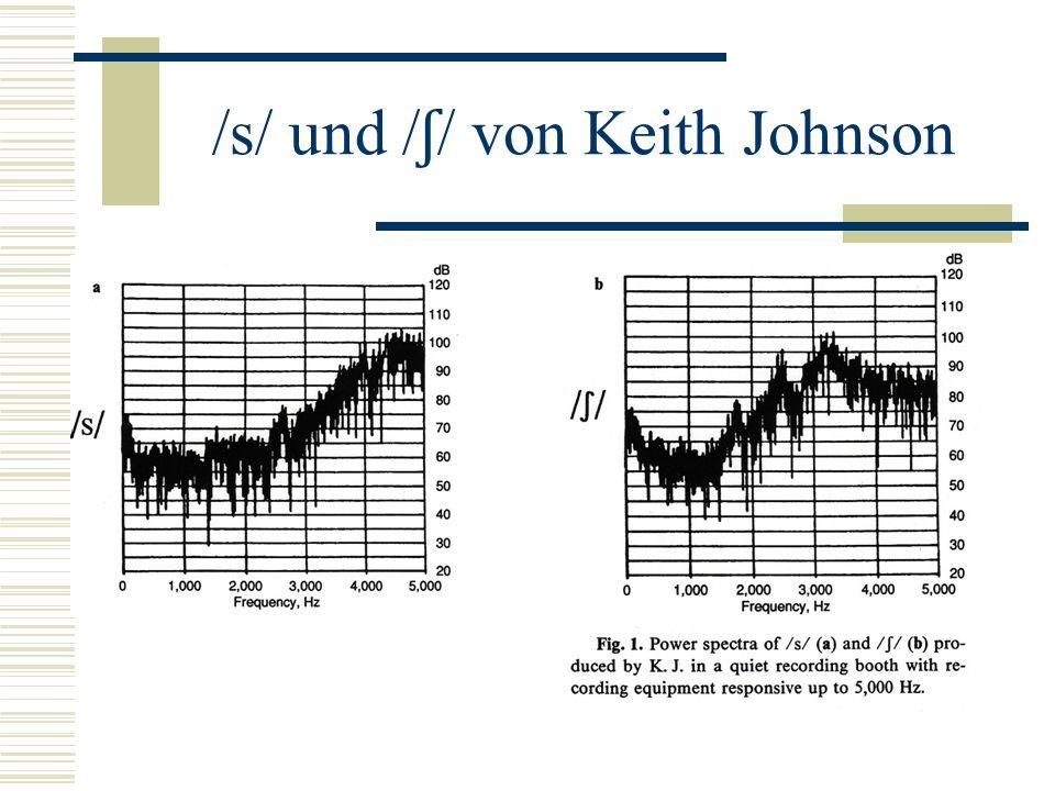 /s/ und /ʃ/ von Keith Johnson